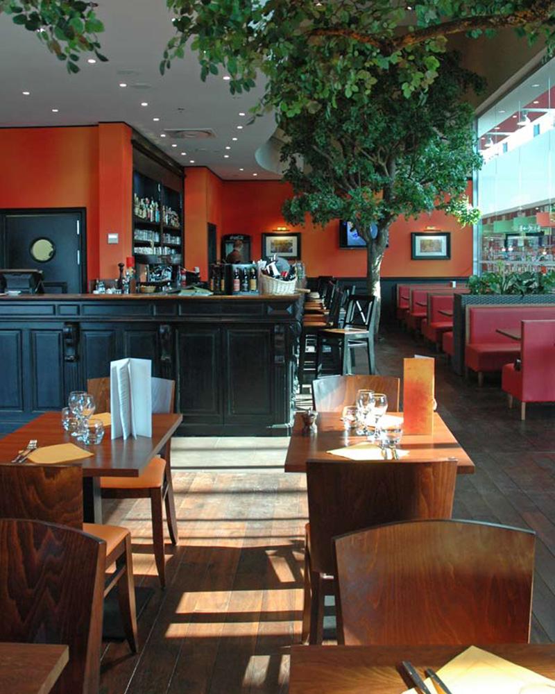 aménagement intérieur restaurant - architecte compiègne